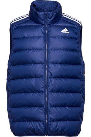 adidas Essentials Light Down Hooded Parka Vest Blå