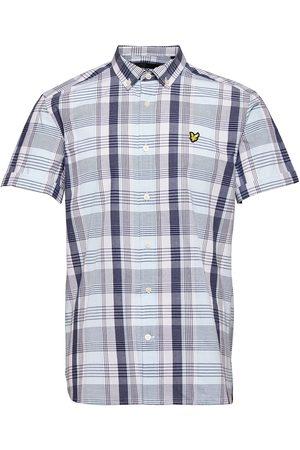 Lyle & Scott Ss Checked Shirt Kortermet Skjorte
