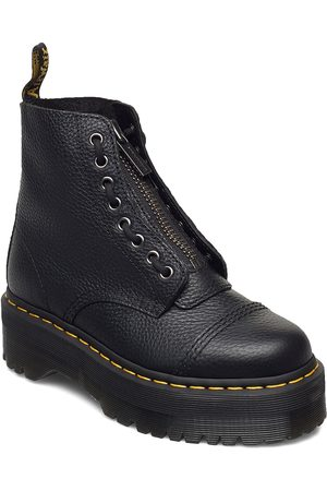 Dr. Martens Sinclair Black Milled Nappa Shoes Boots Ankle Boots Ankle Boot - Flat