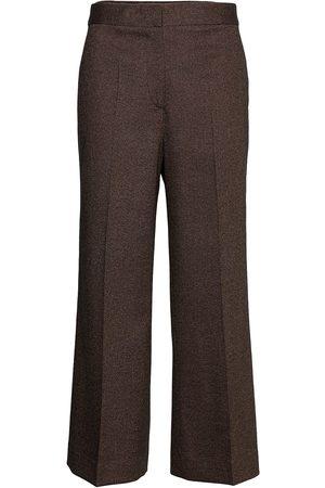 Victoria Victoria Beckham Cropped Flared Trouser Bukser Med Rette Ben