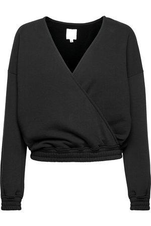 Black Halo Tundra Woolen Wrap College Sweat-shirt Genser