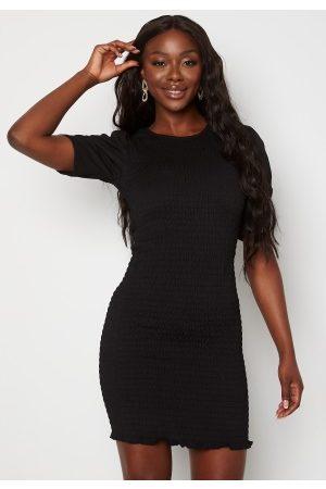 JACQUELINE DE YONG Badille 2/4 Smock Dress Black XS