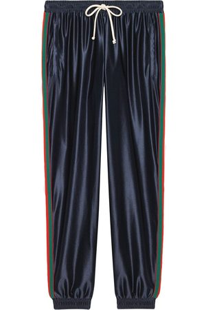 Gucci Herre Joggebukser - Web-trim track pants