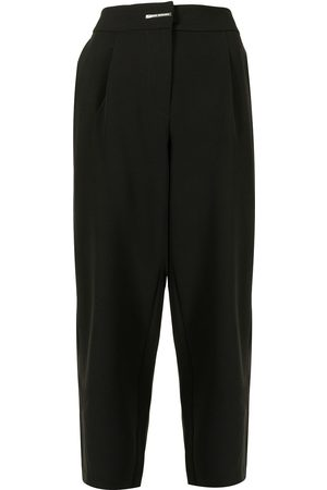 Armani High-waisted tapered trousers