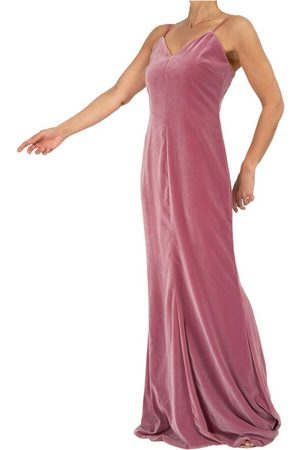 Max Mara Maxi Dress In Velvet