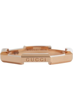 Gucci Link to Love 18kt rose gold ring