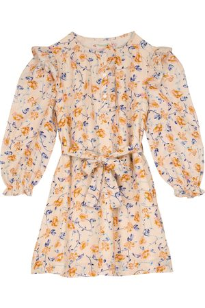 BONPOINT Floral-printed cotton twill dress