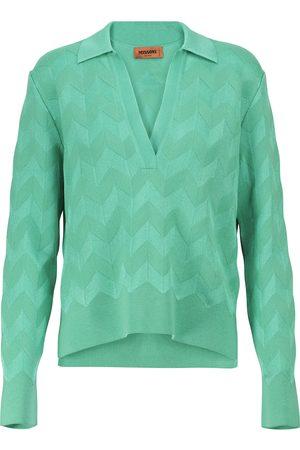 Missoni Zig-zag knit wool-blend sweater