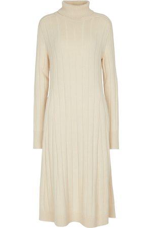 Loro Piana Duca D'Aosta cashmere turtleneck dress