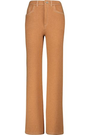 Barrie Cashmere and cotton knit pants