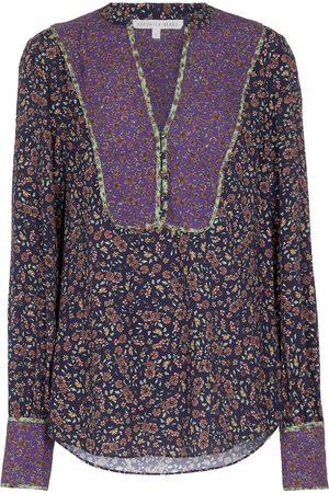 Veronica Beard Betta floral blouse