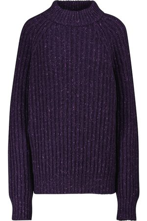 Plan C Ribbed wool and cashmere sweater