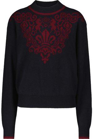 Chloé Intarsia merino-wool sweater