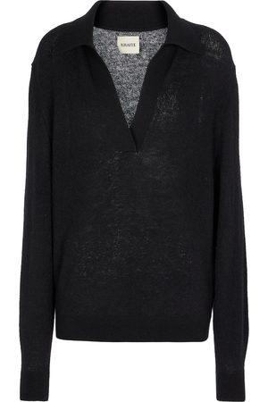 Khaite Jo stretch-cashmere sweater