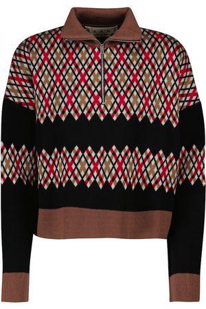 Marni Printed half-zip sweater