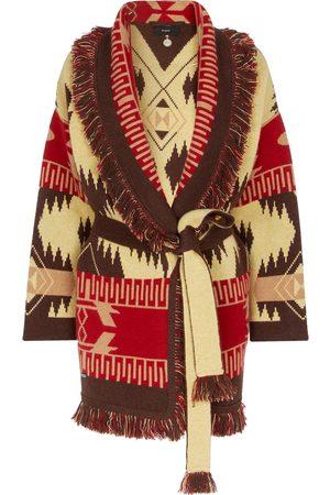 ALANUI Icon Jacquard cashmere cardigan