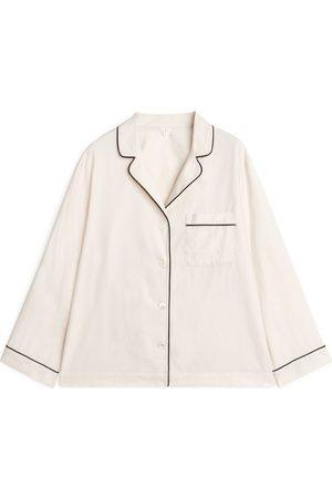 ARKET Dame Sokker - Flannel Pyjama Shirt