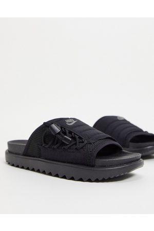 Nike Asuna sliders in black