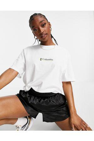 Columbia Dame Kortermede - CSC short sleeve t-shirt in white