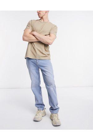 ASOS Dad jeans in vintage light wash blue