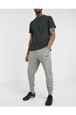 Nike Tapered joggers in grey marl