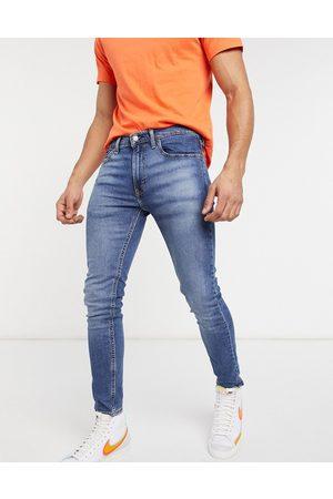 Levi's Levi's Youth 519 super skinny fit hi ball jeans in goth semi pro advance mid wash-Blue