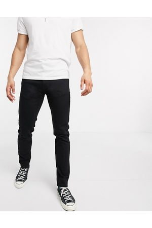 Levi's Levi's Youth 512 slim tapered fit lo-ball jeans in stylo advanced stretch black