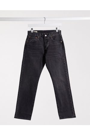 Levi's Levi's 501 '93 cropped straight fit jeans in washed black
