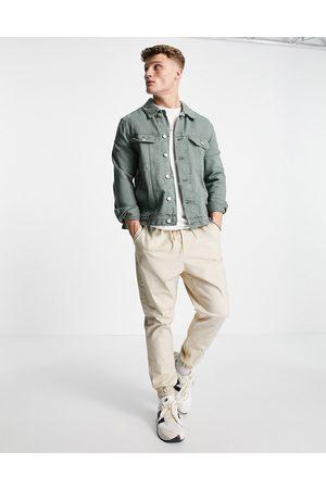 ASOS Denim western jacket in green