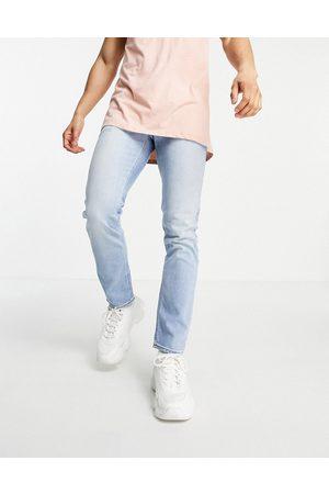 ASOS Stretch slim jeans in retro light wash blue