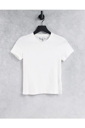 & OTHER STORIES Organic cotton t-shirt in white