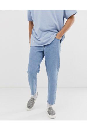 ASOS Classic rigid jeans in light stone wash blue