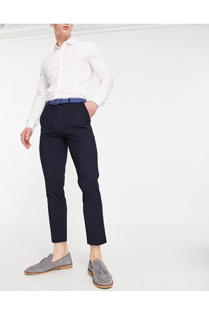 Burton Recycled skinny suit trousers in navy