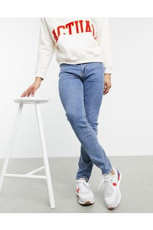 ASOS Skinny jeans in mid wash blue