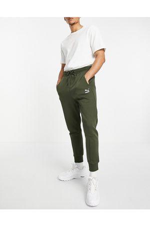PUMA Classics Tech sweatpants in forest green