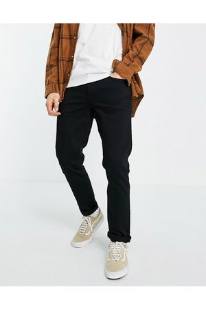 ASOS No fade black stretch slim jeans