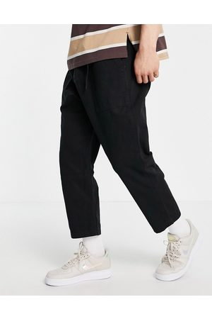 Gramicci Loose tapered trousers in black