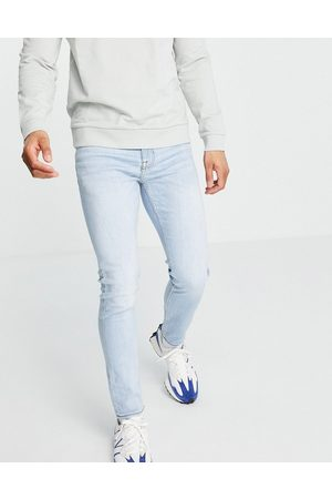 New Look Super skinny jeans in powder blue wash