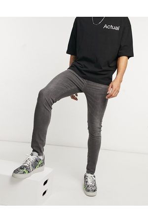 New Look Super skinny jeans in washed grey