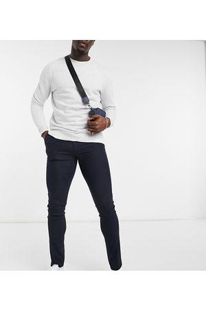 ASOS Tall skinny suit trouser in navy