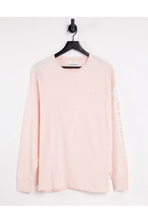 Columbia North Cascades long sleeve t-shirt in pink