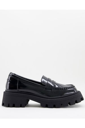 ASOS Mulled chunky loafer in black