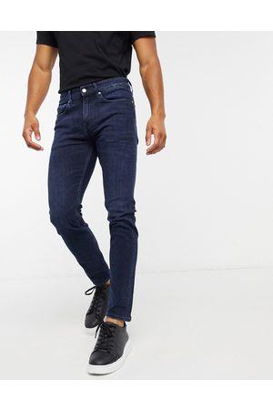 Calvin Klein Skinny fit jeans in dark wash-Blue
