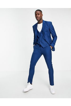 New Look Skinny suit trouser in bright blue