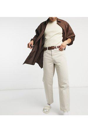 COLLUSION X014 90s baggy jeans in ecru-Neutral