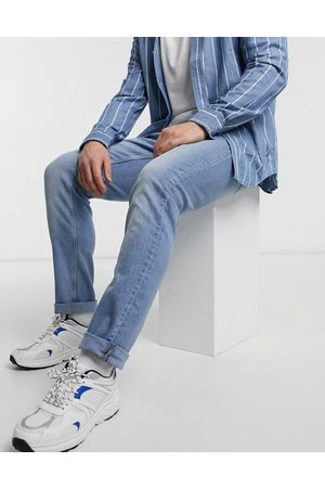 Only & Sons Slim jeans in mid blue