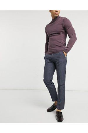 Burton Herre Chinos - Slim fit smart trousers in navy