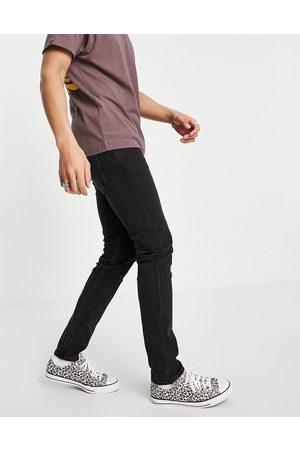 Weekday Friday slim jeans tuned black