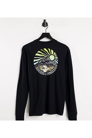 Element Balmore long sleeve t-shirt in black Exclusive at ASOS