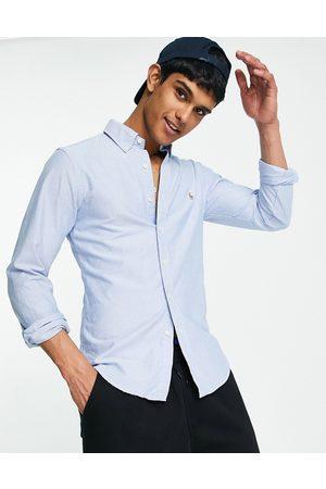Polo Ralph Lauren Oxford shirt in slim fit blue